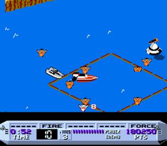 Cobra Triangle - Screenshot of gameplay