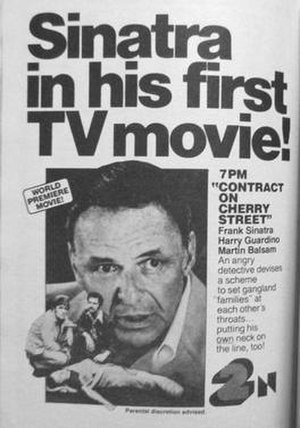 Contract on Cherry Street - 1977 TV Guide promotional advertisement