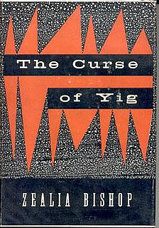 <i>The Curse of Yig</i> (book) book by Zealia Bishop