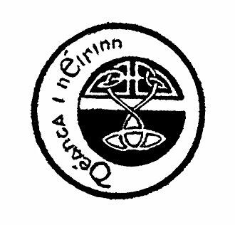 Sinn Féin (newspaper) - Déanta i nÉirinn (Made in Ireland) Symbol
