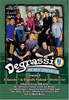 <i>Degrassi: The Next Generation</i> (season 2) Season of television series