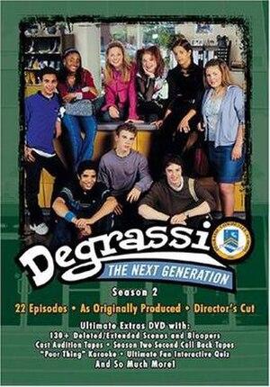 Degrassi: The Next Generation (season 2) - Degrassi: The Next Generation Season 2 DVD