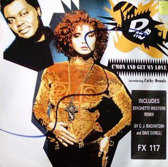 D Mob featuring Cathy Dennis — C'mon and Get My Love (studio acapella)