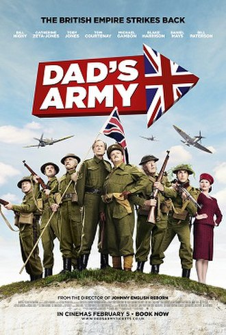 Dad's Army (2016 film) - Theatrical release poster