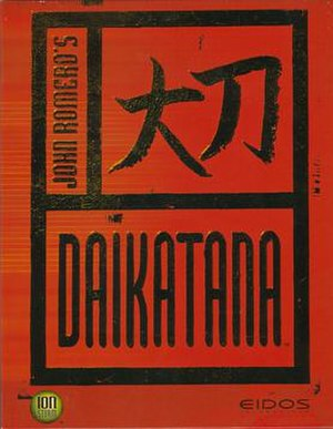 Daikatana - Image: Daikatanabox