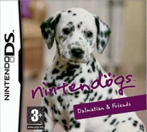 Nintendogs - Dalmatian and Friends European box art