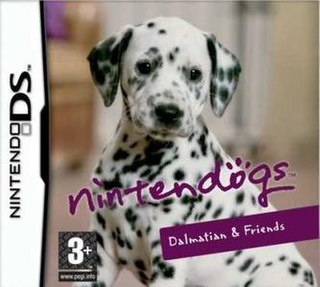 <i>Nintendogs</i> 2005 real-time pet simulation video game