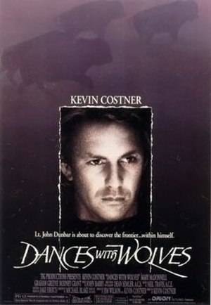 Dances with Wolves - Theatrical release poster