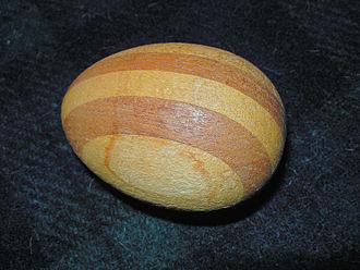 Darning - Darning egg, early 20th century