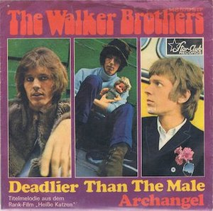 Deadlier Than the Male (song) - Image: Deadlier Than the Male sleeve