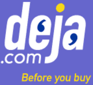 Google Groups - The deja.com logo used from 1999