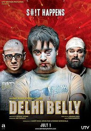 Delhi Belly (film) - Theatrical release poster