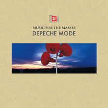 Depeche Mode's Music For The Masses album cover.