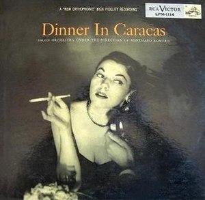 Dinner in Caracas - Image: Dinner in Caracas