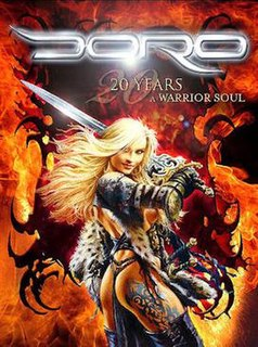 <i>20 Years – A Warrior Soul</i> 2006 video by Doro