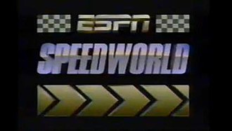 ESPN SpeedWorld - Title card used from 1987 to 1992.