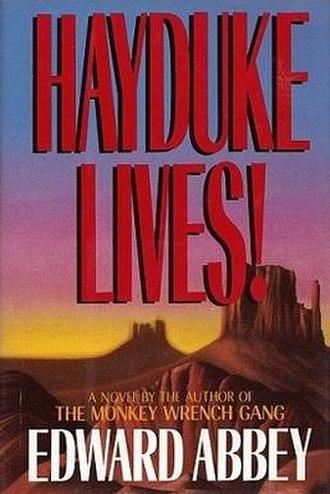 Hayduke Lives - First edition