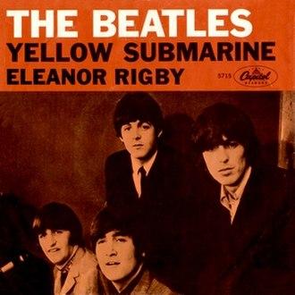 Yellow Submarine (song) - Image: Eleanor rigby single usa