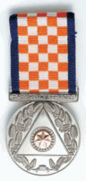 Emergency Services Medal (Australia) - Image: Emergency Services Medal (Australia)