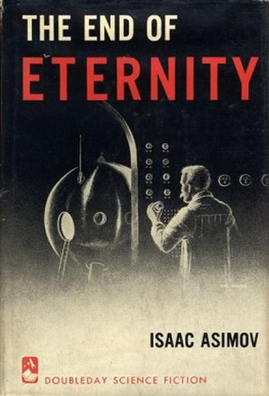 The End of Eternity - Cover of the first edition