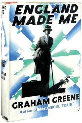 England Made Me (novel) - First edition (publ. Heinemann)