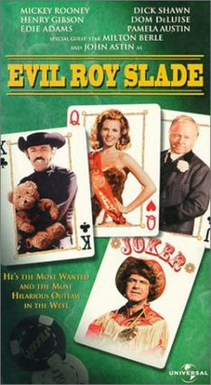 Evil Roy Slade - VHS cover for Evil Roy Slade