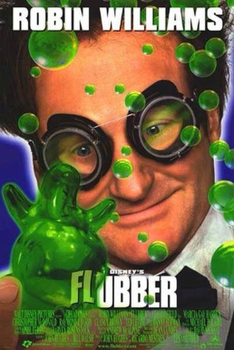 Flubber (film) - Theatrical release poster