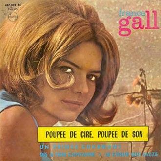 Poupée de cire, poupée de son - Image: France Gall Poupée de cire, poupée de son