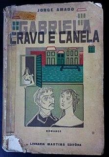 <i>Gabriela, Clove and Cinnamon</i> novel by Brazilian writer Jorge Amado