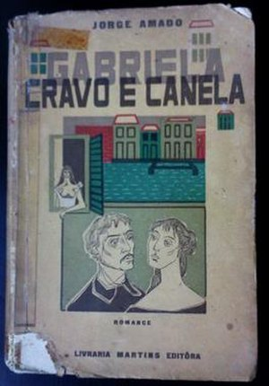 Gabriela, Clove and Cinnamon - First edition Cover art by Clóvis Graciano