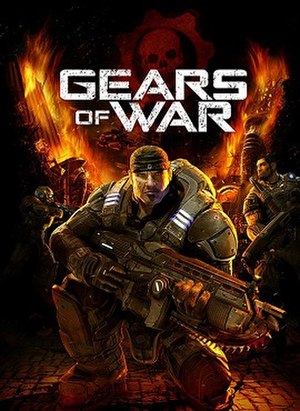 Gears of War (video game) - Image: Gears of war cover art