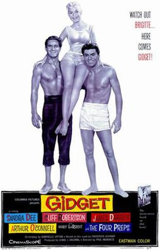 Gidget (film) - 1959 Theatrical Poster