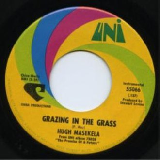 Grazing in the Grass - Image: Grazing In The Grass Masekela Single