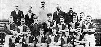 Grimsby Town F.C. - Grimsby Town F.C., champions of the inaugural Football League Second Division in 1900–1901