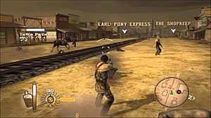 Gun (video game) - Gunfights are an important feature of the game, with enemies ranging from outlaws to wild animals.
