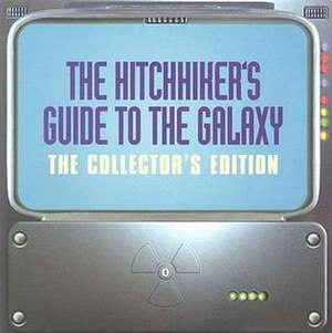 The Hitchhiker's Guide to the Galaxy (radio series) - The cover of the booklet included with the Collector's Edition CD set release of the first two Hitchhiker's radio series.
