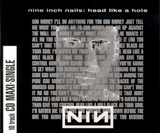 Head Like a Hole - Image: Head like a hole US