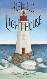 <i>Hello Lighthouse</i> Picture book about a lighthouse and its keeper