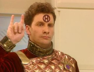 Holoship 1st episode of the fifth season of Red Dwarf