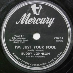 Just Your Fool - Image: I'm Just Your Fool single cover