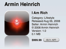 I Am Rich sale screen.png
