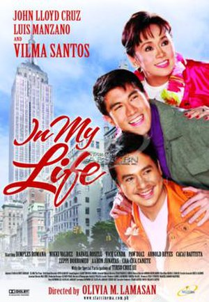 In My Life (2009 film) - Theatrical movie poster
