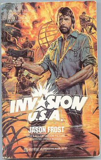 Invasion U.S.A. (1985 film) - Cover of the novelization.