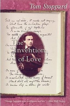The Invention of Love - Cover of the Grove Press edition