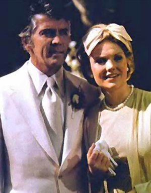 Joe Riley (One Life to Live) - Joe and Viki (Erika Slezak) remarry, 1974