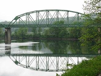 Blues Beach, West Virginia - John Blue Bridge