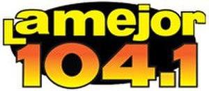 KJOR - Image: KJOR La Mejor 104.1 logo