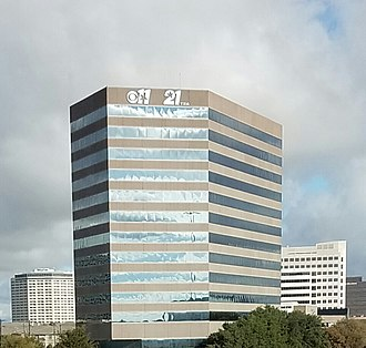 KTXA - KTXA's (as well as those of co-owned KTVT) Dallas bureau and offices are in this building, CBS Tower, in north Dallas.