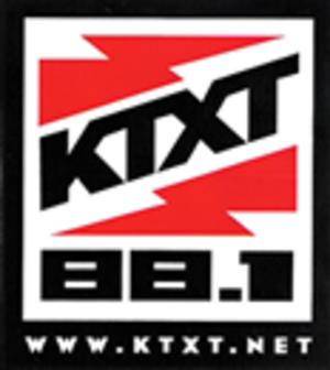 KTXT-FM - Former KTXT-FM logo