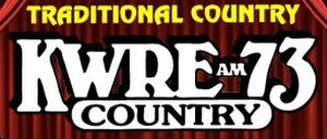 KWRE - Image: KWRE AM73Country logo